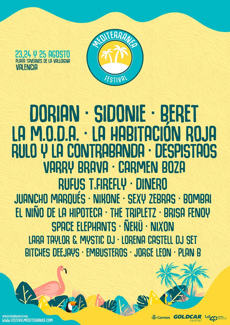 Mediterránea Festival cierra su cartel con Despistaos, Bombai y ...